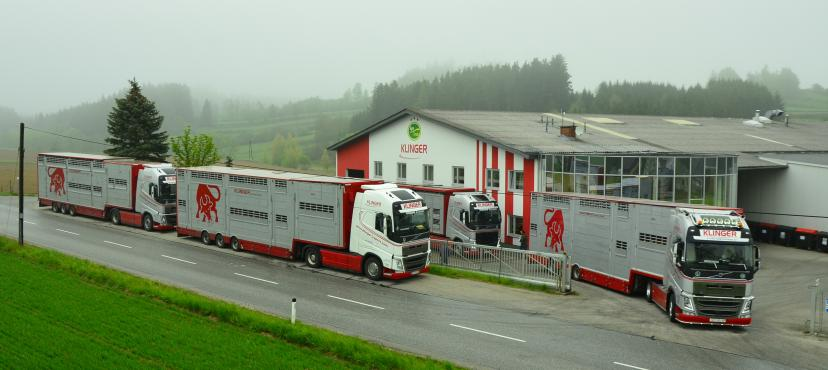 Photo Klinger trucks at Klinger headquater
